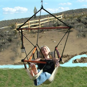 The Deluxe Hanging Chair & FREE SHIPPING