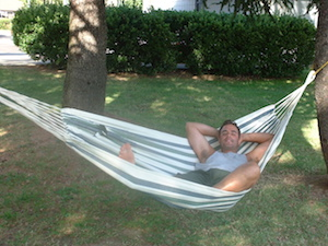 Phil on Hammock