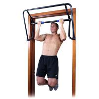 Teeter Hang Ups Rack in use by man doing chin ups