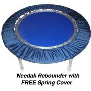 Needak SOFT Bounce NON-Folding Rebounder & bonuses