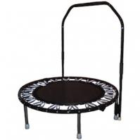 Black Needak Rebounder with stabilizer bar