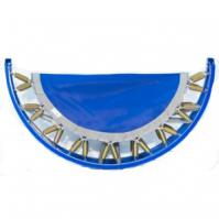 Picture of a Folded Blue Needak Rebounder.