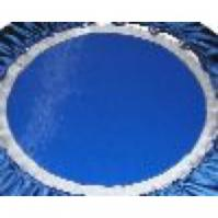 Pic of a Needak Rebounder Blue Mat.